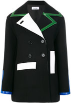 Courreges colour block jacket