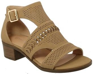 Top Moda Gilian Cutout Sandal
