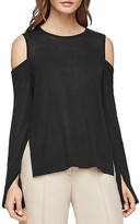 BCBGMAXAZRIA Anita Cold-Shoulder Sweater