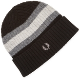 Fred Perry Men's Bomber Tipped Wool Beanie