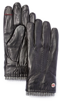 Rawlings Sports Accessories Black Touch Screen Lamb Leather Sweater Detail Glove - Men