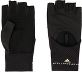 adidas by Stella McCartney x Stella McCartney perforated fingerless gloves