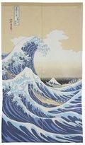 The Great Made in Japan Noren Curtain Tapestry Ukiyoe Hokusai Wave Kanagawa