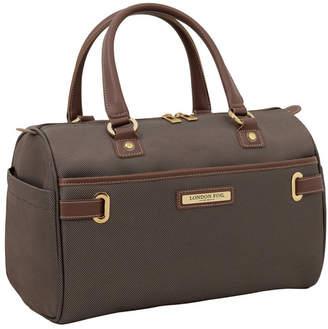 "London Fog Oxford Ii Softside 16"" Satchel Luggage"