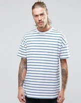 Asos Oversized T-Shirt With Stripe