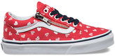 Vans Kids Moody Floral Old Skool Zip