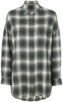 Vince relaxed check shirt