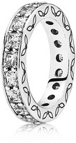 Pandora Ring - Sterling Silver & Cubic Zirconia Clear Infinity