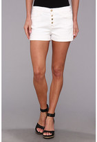 7 For All Mankind Biancha Short in White Fashion