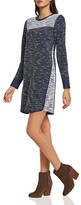 BCBGeneration Color-Block Sweater Dress