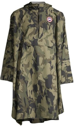 Canada Goose Camouflage Waterproof Field Poncho