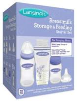 Lansinoh Breastmilk Storage and Feeding Starter Set