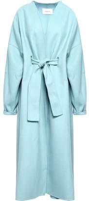 Zimmermann Whitewave Belted Wool-felt Coat
