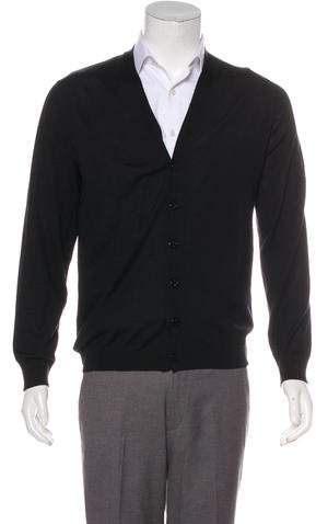 Gucci Wool Button-Up Cardigan