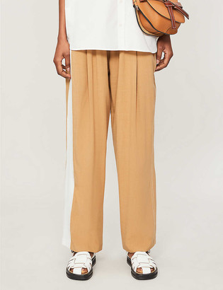Camilla And Marc Benito wide-leg high-rise stretch-woven trousers