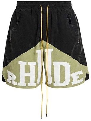 Rhude Yachting Cotton Shorts