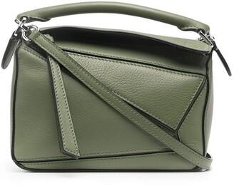 Loewe Puzzle panelled shoulder bag