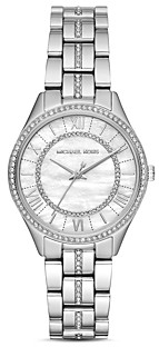 Michael Kors Mini Lauryn Pave Watch, 33mm x 39mm