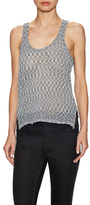 BCBGeneration Knit Scoopneck Top with High-Low Hem
