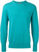 N.Peal ribbed trim sweatshirt