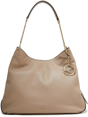 MICHAEL Michael Kors Lillie Textured-leather Shoulder Bag