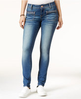 Rampage Juniors' Booty Booster High-Rise Skinny Jeans
