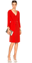 Nina Ricci Long Sleeve Wrap Dress