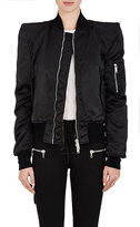 Ben Taverniti Unravel Project Women's Tech-Twill Insulated Bomber Jacket