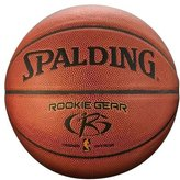 Spalding Rookie Gear Basketball, Brown - 27.5""