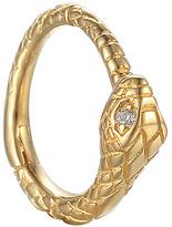 Pamela Love Serpent Huggie Hoop Single Earring - Yellow Gold
