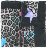 Ottotredici - leopard print scarf - women - Modal/Cashmere - One Size
