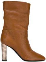 Pollini high heel boots