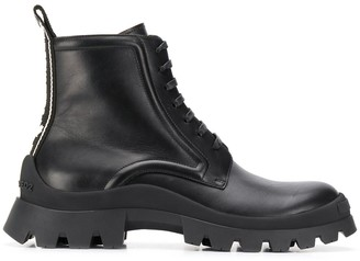 DSQUARED2 Military-Style Ankle Boots