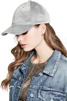 GUESS Women's Emma Velvet Baseball Hat