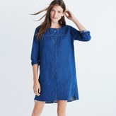 Madewell Denim Step-Hem Dress