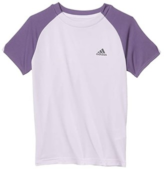 adidas Kids Club Tee (Little Kids/Big Kids) (Collegiate Burgundy) Boy's Short Sleeve Pullover