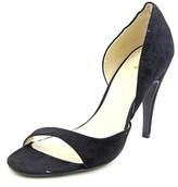 Mia Estelle Open-toe Canvas Heels.