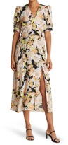Thumbnail for your product : Topshop 70s Floral Midi Dress