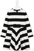 Il Gufo striped fit and flare dress