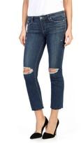 Paige Women's Legacy - Colette High Waist Raw Hem Crop Flare Jeans