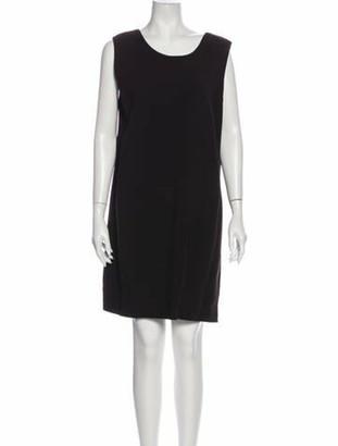 Hermes Vintage Mini Dress Brown