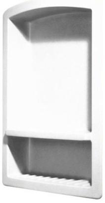 Swan 4.313x15x22 Solid Surface Soap Dish, Mounta Haze