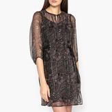 Ikks Printed Voile Dress