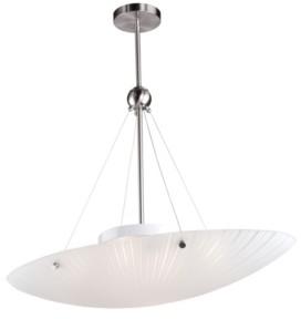Artcraft Lighting Artcraft Flush mount 4-Light Semi-Flush Bowl Pendant