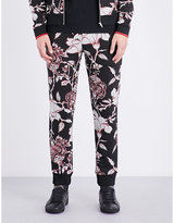 Mcq Alexander Mcqueen Goth Tattoo Cotton-jersey Jogging Bottoms