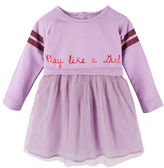 Andy & Evan Girls 2-6x Play Like a Girl Varsity Dress
