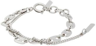 Justine Clenquet Silver Jerry Chain Bracelet