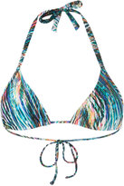 Lygia & Nanny - triangle bikini top - women - Polyamide/Spandex/Elastane - 40