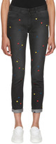 Stella McCartney Black Heart Skinny Boyfriend Jeans