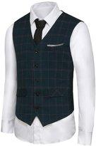 Hanayome Men's British Style Leisure Business Suit Dress Vest Waistcoat VS08£ ̈,XXL£©